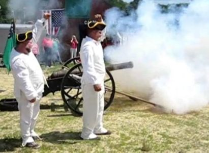 firing the cannon 2011