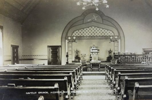 1889 Baptist Church interior