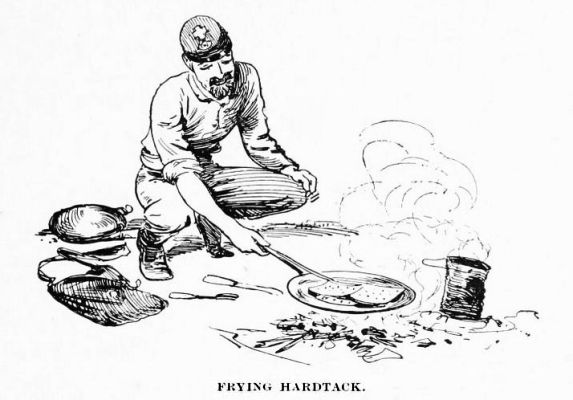 Frying Hardtack
