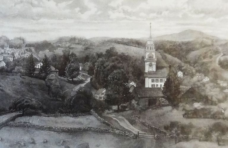 church-on-the-hill-painting